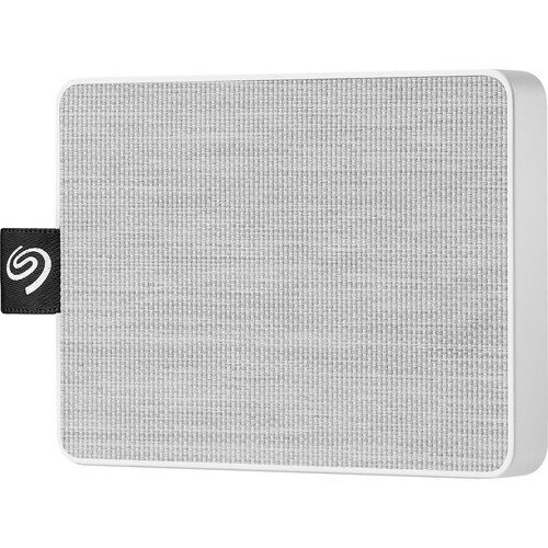 Seagate One Touch Ultra-small Usb 3.0 External SSD - 500GB - White