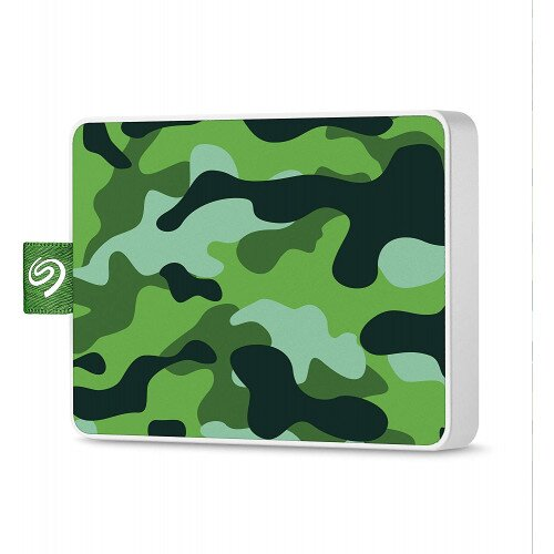 Seagate One Touch Ultra-small Usb 3.0 External SSD Special Edition - 500GB - Camo Green
