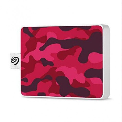 Seagate One Touch Ultra-small Usb 3.0 External SSD Special Edition - 500GB - Camo Red