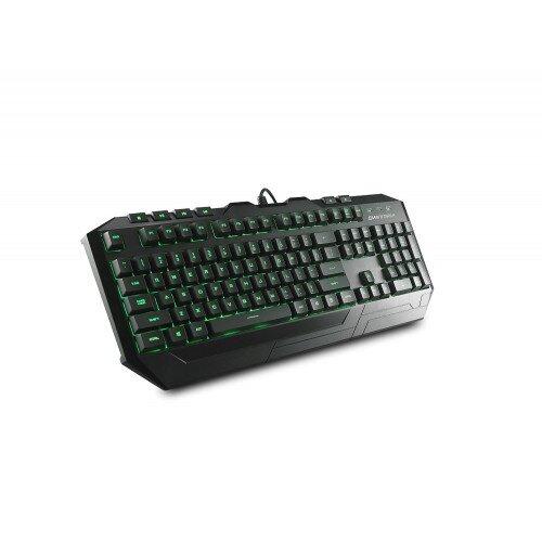 Cooler Master Devastator Gaming Gear Combo Keyboard - Green