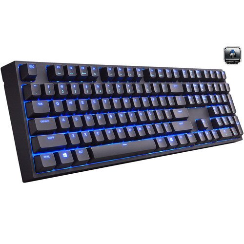 Cooler Master Quick Fire XTi Mechanical Gaming Keyboard - Brown
