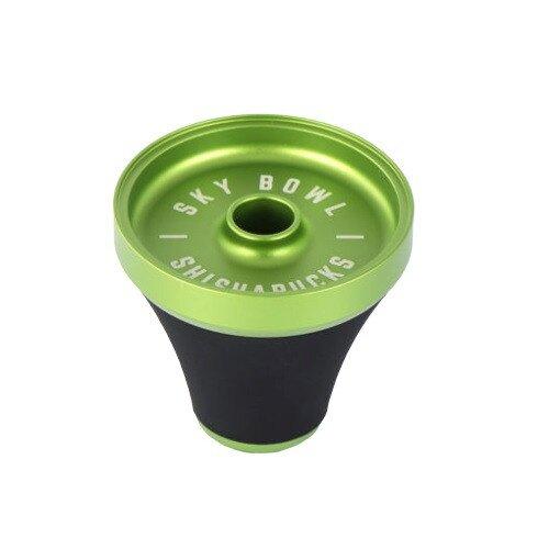 Shishabucks Premium Sky Bowl - Green - Regular (20-25g)