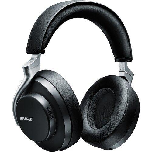 Shure AONIC 50 Noise-Canceling Over-Ear Wireless Headphones - Black