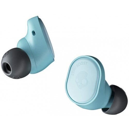 Skullcandy Sesh Evo True In-Ear Wireless Earbuds - Bleached Blue