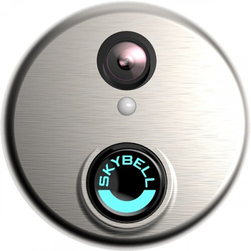 SkyBell HD Wi-Fi Video DoorBell - Brushed Aluminum