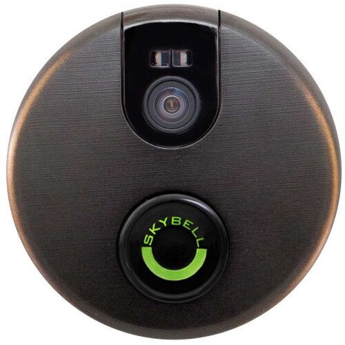 SkyBell 2.0 Wi-Fi Video Doorbell - Oil Rubbed Bronze