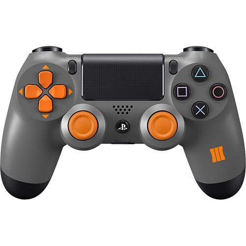Sony DualShock 4 Wireless Controller for PlayStation 4 - Gray/Black/Orange