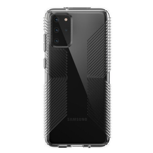 Speck Presidio Perfect-Clear with Grips Galaxy S20+ Case