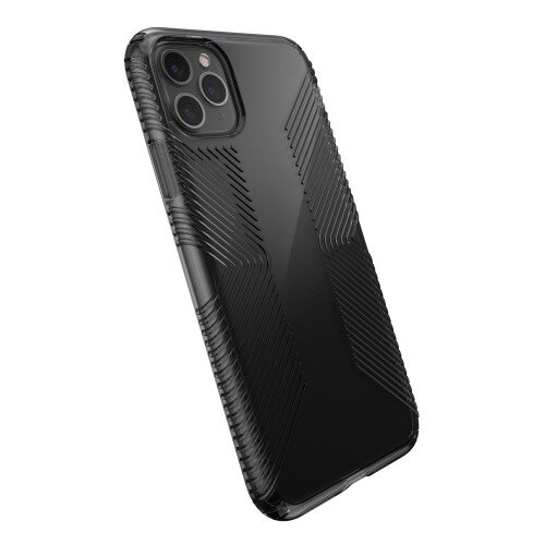 Speck Presidio Perfect-Clear with Grips iPhone 11 Pro Max Case - Obsidian