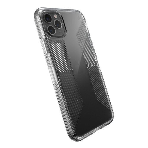 Speck Presidio Perfect-Clear with Grips iPhone 11 Pro Max Case