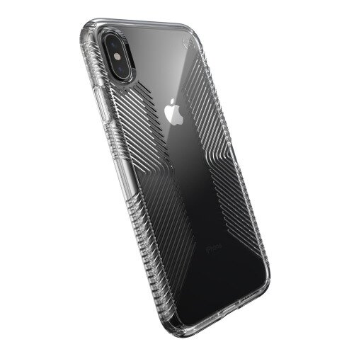 Speck Presidio Perfect-Clear with Grips iPhone XS Max Case