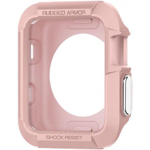 Spigen Apple Watch Series 3/2/1 (42mm) Case Rugged Armor - Rose Gold