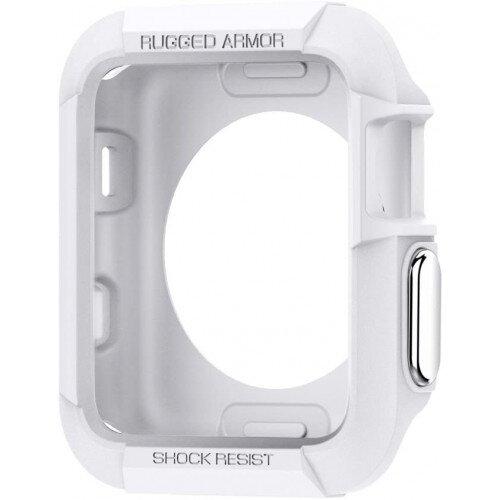 Spigen Apple Watch Series 3/2/1 (42mm) Case Rugged Armor - White
