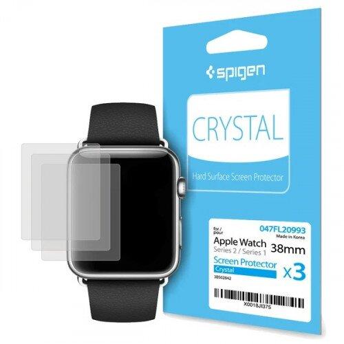 Spigen Apple Watch Series 3/2/1 (38mm) Screen Protector - Crystal