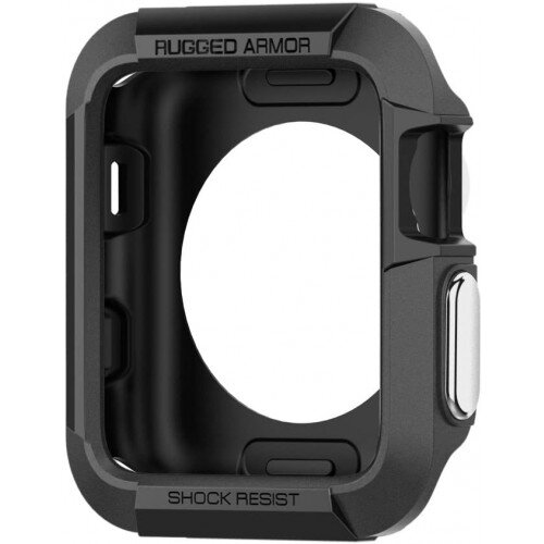 Spigen Apple Watch Series 3/2/1 (42mm) Case Rugged Armor - Black