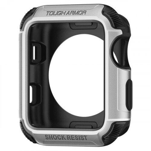 Spigen Apple Watch Series 3/2 (38mm) Case Tough Armor 2 - Silver