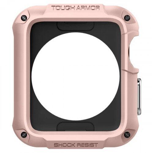 Spigen Apple Watch Series 3/2 (42mm) Case Tough Armor 2 - Rose Gold