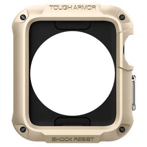 Spigen Apple Watch Series 3/2 (42mm) Case Tough Armor 2 - Champagne Gold