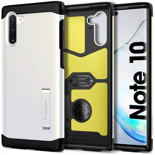 Spigen Galaxy Note 10 Case Tough Armor - Glow White