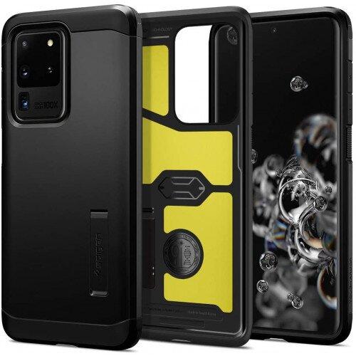 Spigen Galaxy S20 Ultra Tough Armor Case - Black