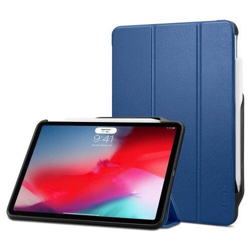 """Spigen iPad Pro 11"""" (2018) Case Smart Fold 2 - Blue"""