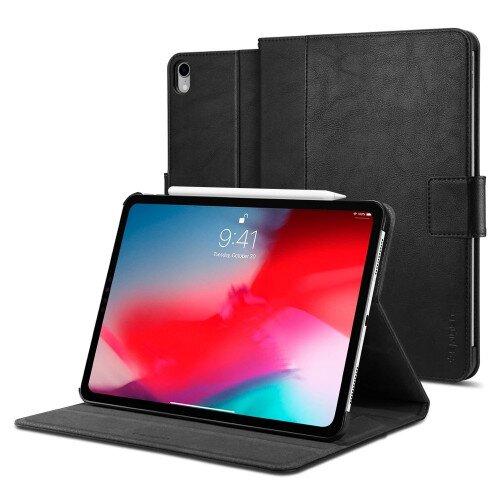 "Spigen iPad Pro 11"" (2018) Case Stand Folio - Black"