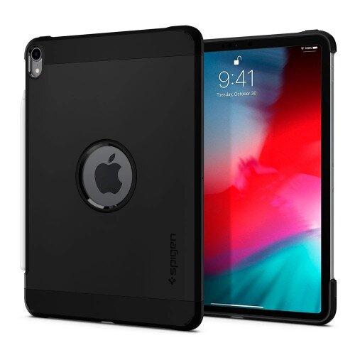 """Spigen iPad Pro 11"""" (2018) Case Tough Armor - Black"""