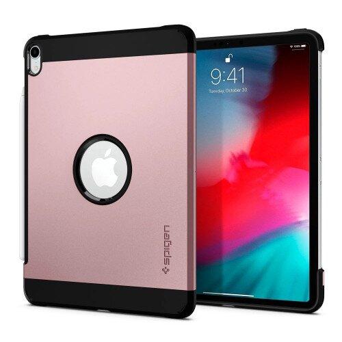 """Spigen iPad Pro 11"""" (2018) Case Tough Armor - Rose Gold"""