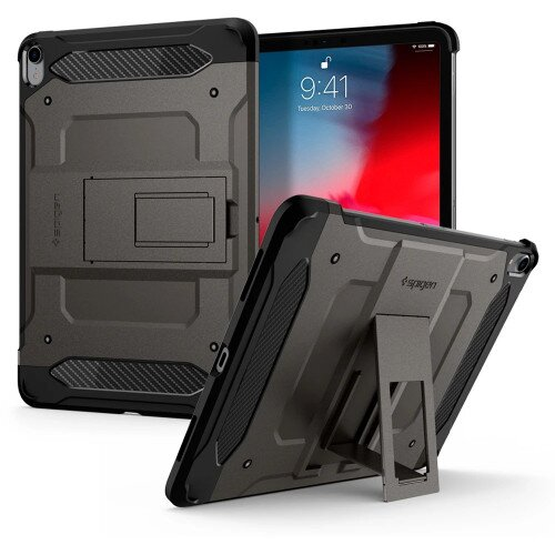 "Spigen iPad Pro 11"" (2018) Case Tough Armor Tech - Gunmetal"