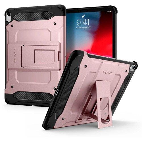 """Spigen iPad Pro 11"""" (2018) Case Tough Armor Tech - Rose Gold"""