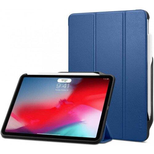 """Spigen iPad Pro 12.9"""" (2018) Case Smart Fold 2 - Blue"""