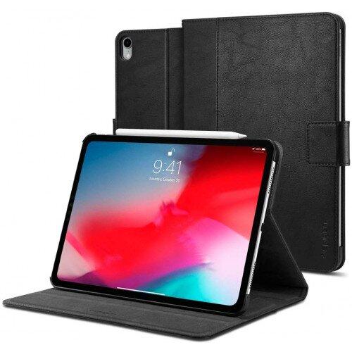 "Spigen iPad Pro 12.9"" (2018) Case Stand Folio - Black"