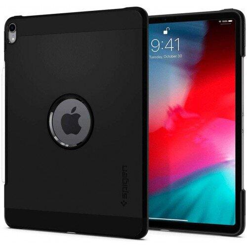 """Spigen iPad Pro 12.9"""" (2018) Case Tough Armor - Black"""