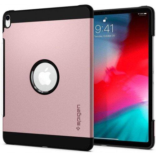 """Spigen iPad Pro 12.9"""" (2018) Case Tough Armor - Rose Gold"""