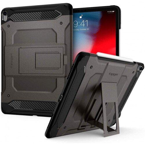 "Spigen iPad Pro 12.9"" (2018) Case Tough Armor Tech - Gunmetal"