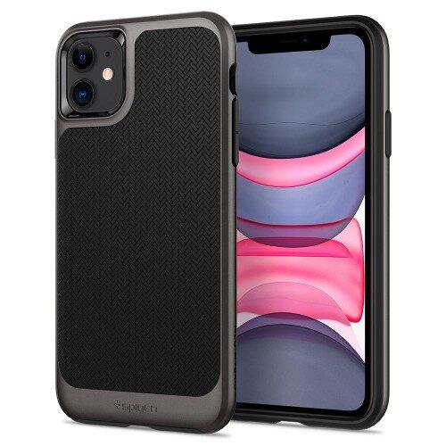 Spigen iPhone 11 Case Neo Hybrid - Gunmetal