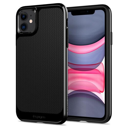 Spigen iPhone 11 Case Neo Hybrid - Jet Black