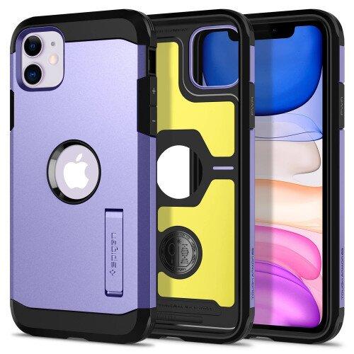 Spigen iPhone 11 Case Tough Armor - Purple