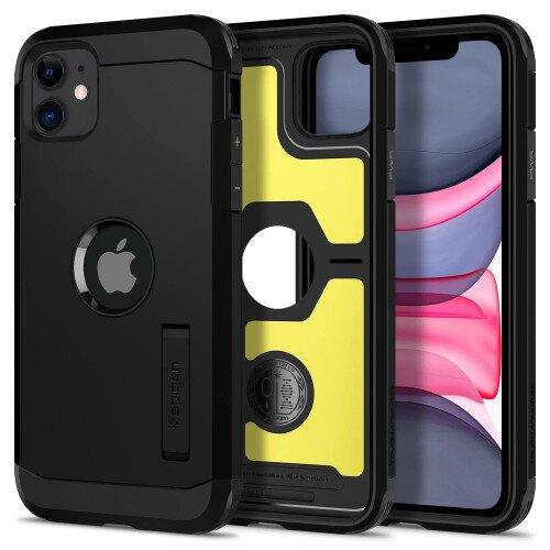 Spigen iPhone 11 Case Tough Armor - Black