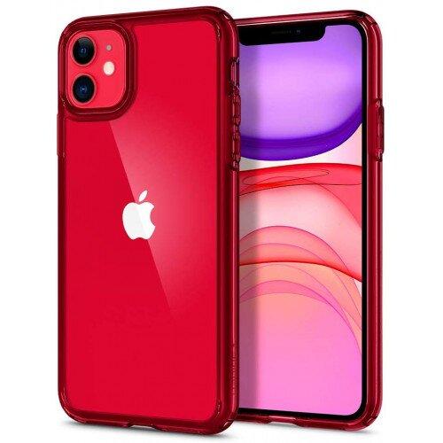Spigen iPhone 11 Case Ultra Hybrid - Red