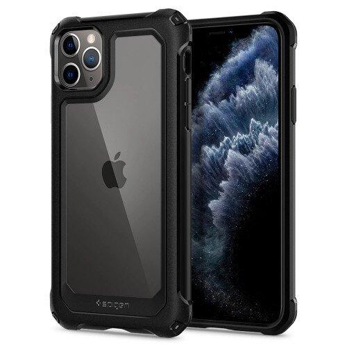 Spigen iPhone 11 Pro Case Gauntlet - Carbon Black
