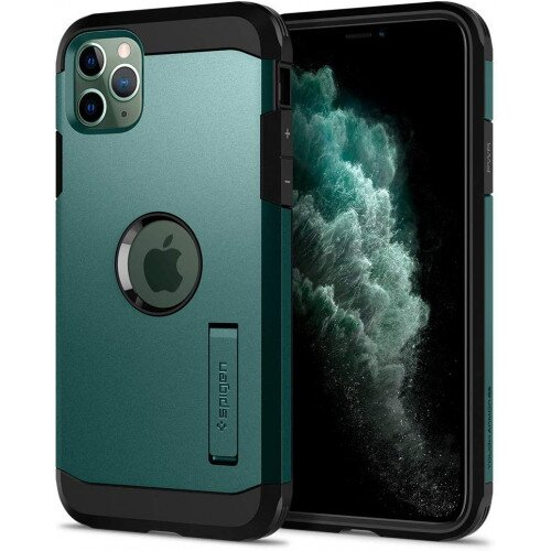 Spigen iPhone 11 Pro Case Tough Armor - Green