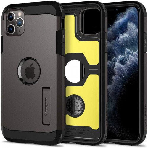 Spigen iPhone 11 Pro Case Tough Armor - Gunmetal
