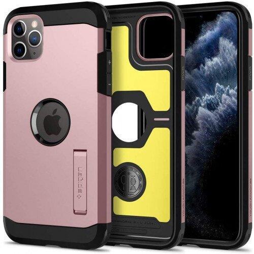 Spigen iPhone 11 Pro Case Tough Armor - Rose Gold