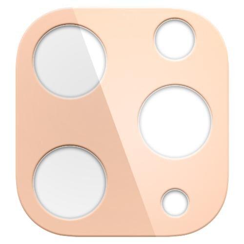 Spigen iPhone 11 Pro Max / 11 Pro Full Cover Camera Lens Screen Protector - Gold