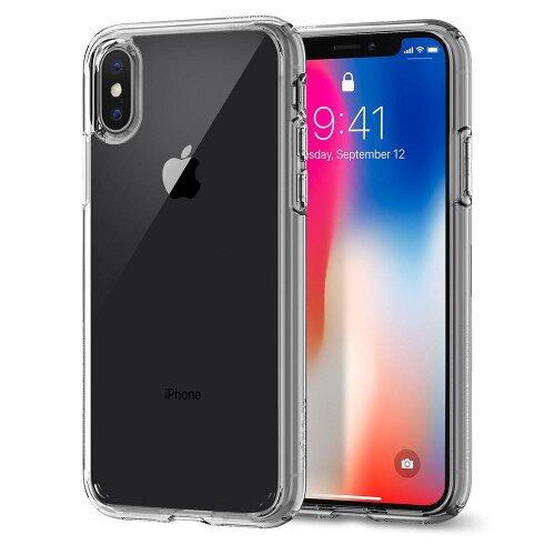 Spigen iPhone X Case Ultra Hybrid - Crystel Clear