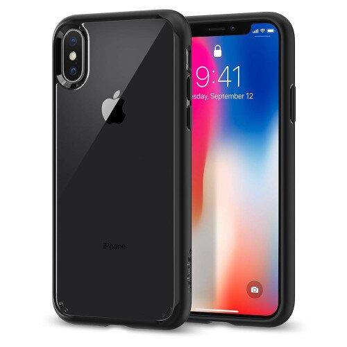 Spigen iPhone X Case Ultra Hybrid - Matte Black