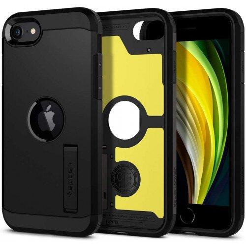 Spigen Tough Armor Case for iPhone SE (2020) - Gunmetal