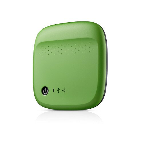 Seagate Wireless Mobile Storage - 500GB - Green