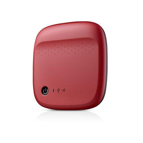 Seagate Wireless Mobile Storage - 500GB - Red